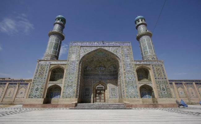 Mezquita del Viernes, Herat, Afganistán.
