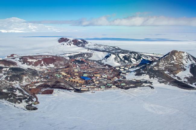 Base McMurdo, Antártida
