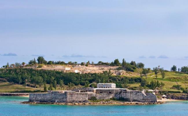 Fuerte de St Catherine, Bermudas.