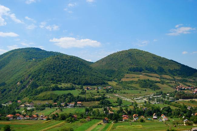 Colina de Visočica, Bosnia