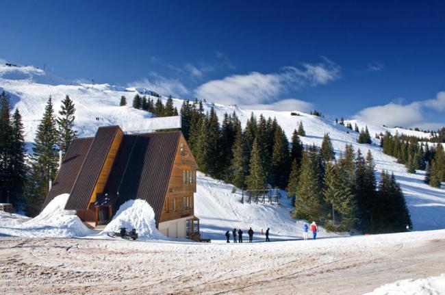 Pistas de esquí en Jahorina, Bosnia y Herzegovina