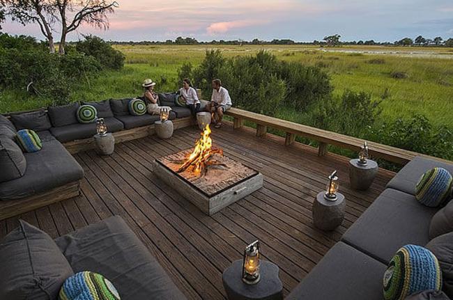 Un safari de lujo, Vumbura Plains Camp, Botsuana