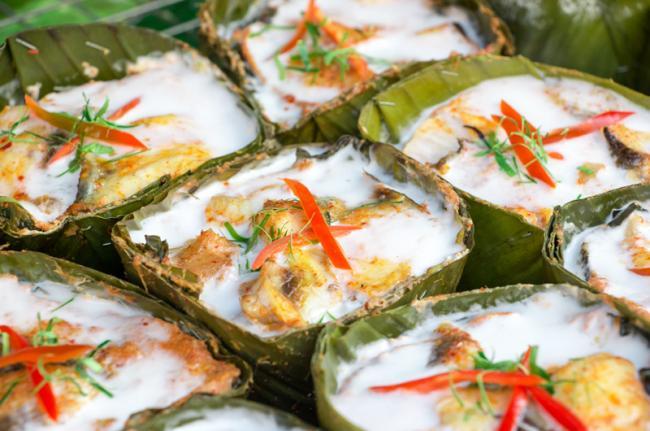 'Amok', cocina jemer, Camboya