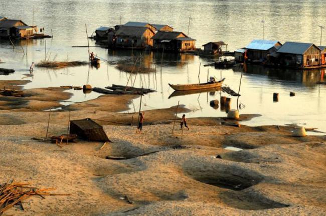 Koh Trong, Kratie, Camboya