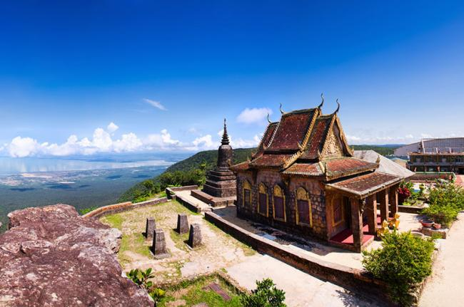 Panorámica desde Bokor, provincia de Kampot, Camboya
