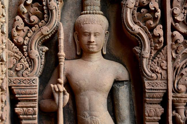 La galería de arte de Angkor, Siem Reap, Camboya