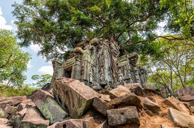 Beng Mealea, el gigante dormida de la selva, Siem Reap, Camboya