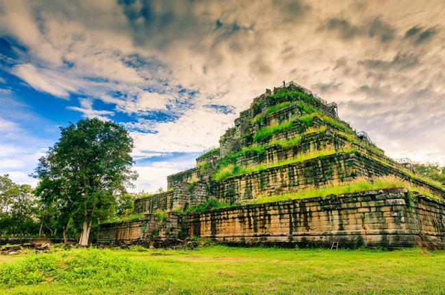 La otra capital, Koh Ker, Siem Reap, Camboya