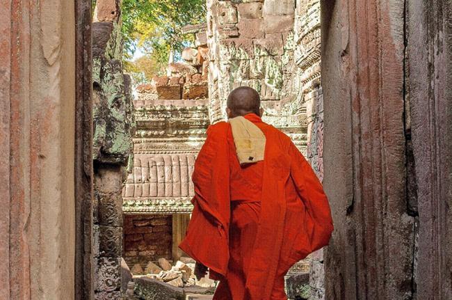 Preah Khan, Siem Reap, Camboya