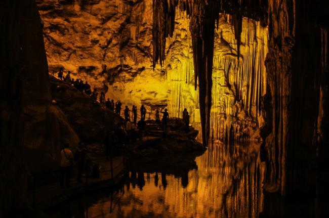 Grotta di Nettuno, Cerdeña, Italia