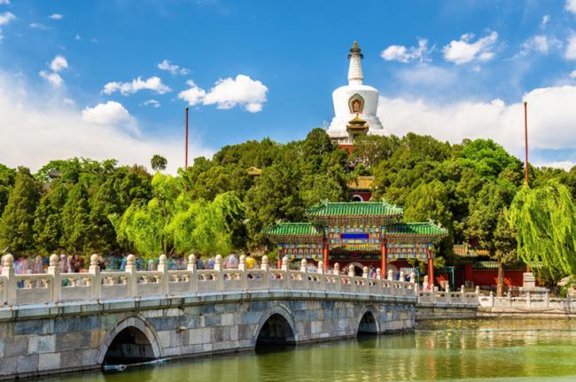 Parque Běihǎi, Beijing, China