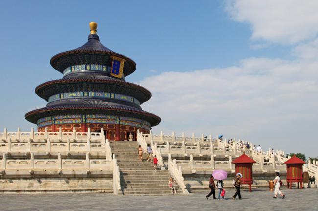 Parque del Templo del Cielo, Beijing, China