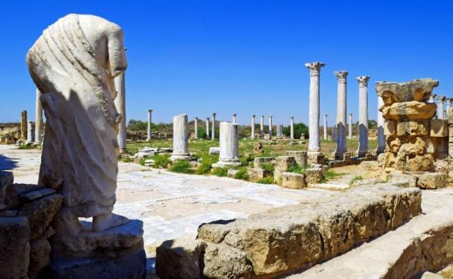 Antigua Ciudad de Salamis, Chipre.