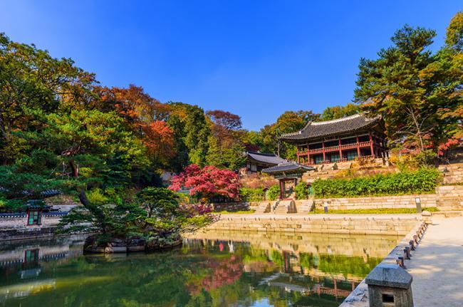 Changdeokgung, Seúl, Corea del Sur.