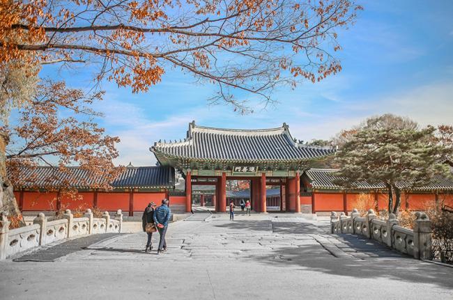 Changdeokgung, Seúl, Corea del Sur