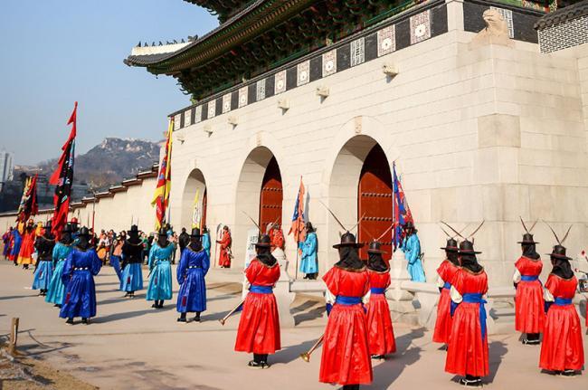 Gyeongbokgung, Seúl, Corea del Sur