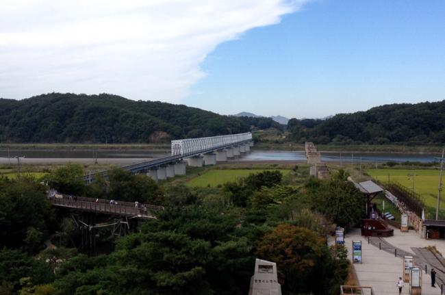 Puente de la Libertad, ZDC, Corea del Sur
