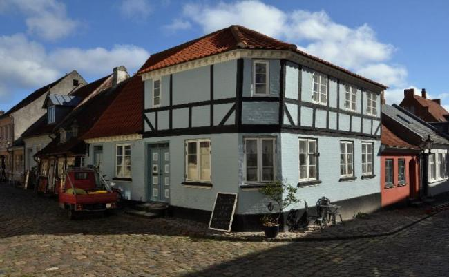 Ærø, Dinamarca.
