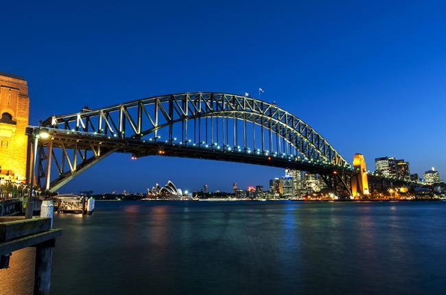 Harbour Bridge, Sídney, Australia