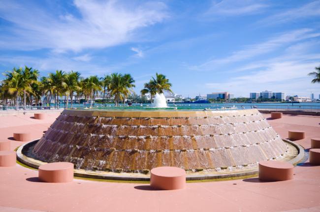 Bayfront Park, Miami, Florida, EE UU