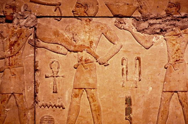 Relieves del imperio antiguo, Egipto