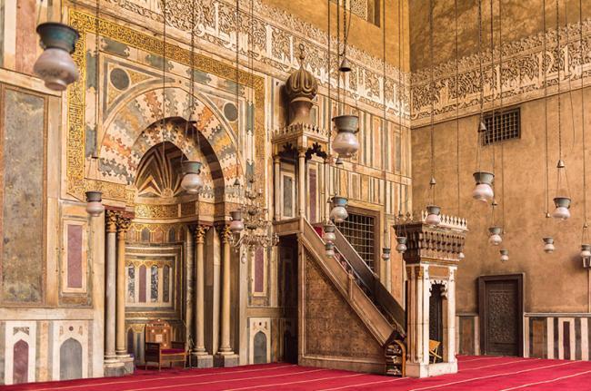 Mezquitas de El Cairo, Egipto