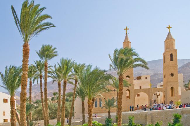 Monasterio copto, Egipto