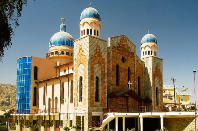 Iglesia de San Antonio, Keren, Eritrea.