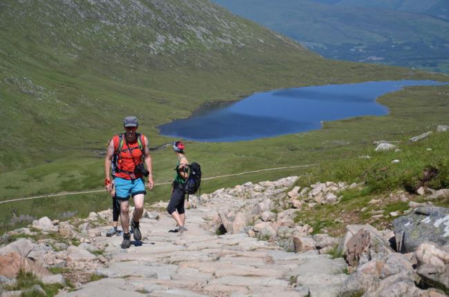 Escalada al Ben Nevis, Escocia