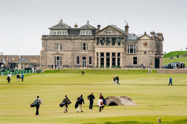 Golf en St Andrews, Escocia