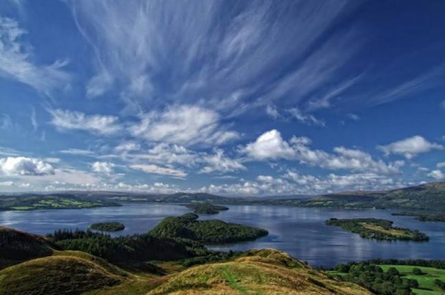 Inchcailloch, Loch Lomond, Escocia