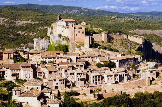 Alquézar, Aragón, España