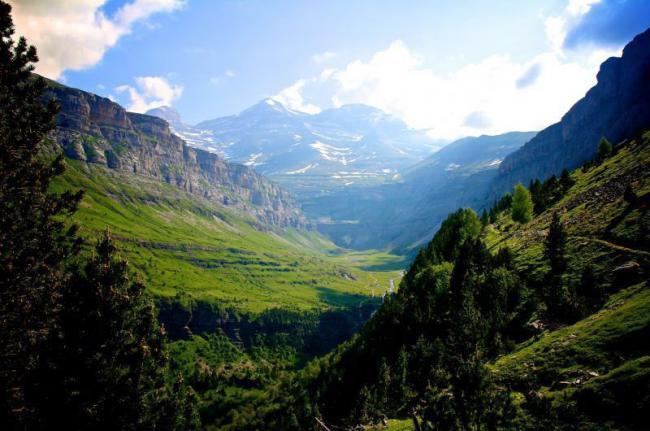 Parque Nacional de Ordesa y Monte Perdido, Aragón, España