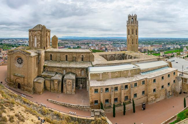Seu Vella de Lleida, Cataluña, España