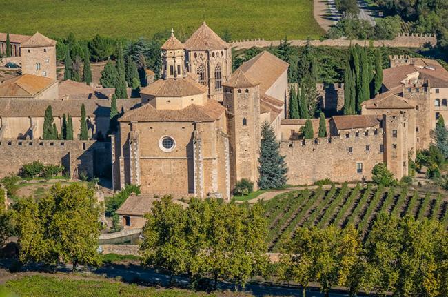 Monasterio de Poblet, Cataluña, España