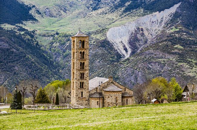 Iglesia románica de Boí, Vall de Boí, Cataluña, España