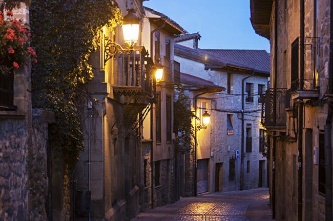 Calles de Haro, La Rioja, España