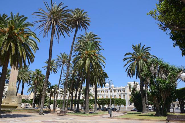 Plaza de España, Melilla, España