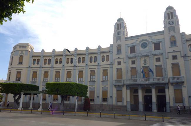 Palacio de la Asamblea (ayuntamiento) de Melilla, España