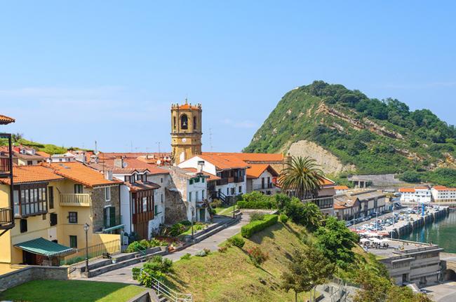 Getaria, Guipúzcoa, País Vasco, España