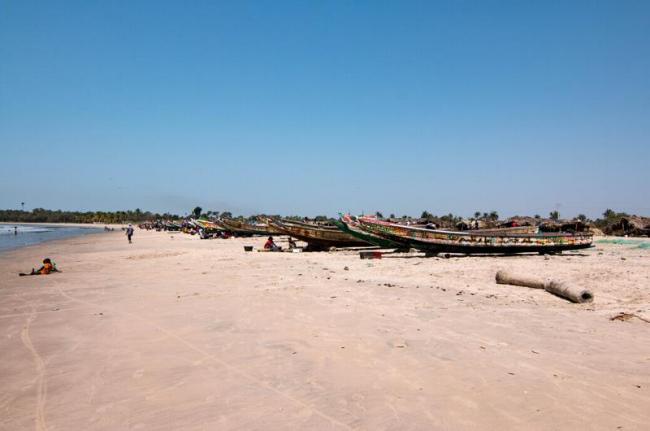 Playa de Sanyang, Gambia