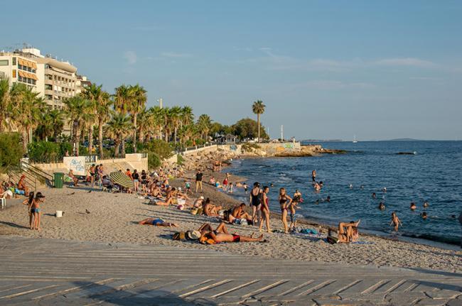 Playa de Fáliro, Grecia