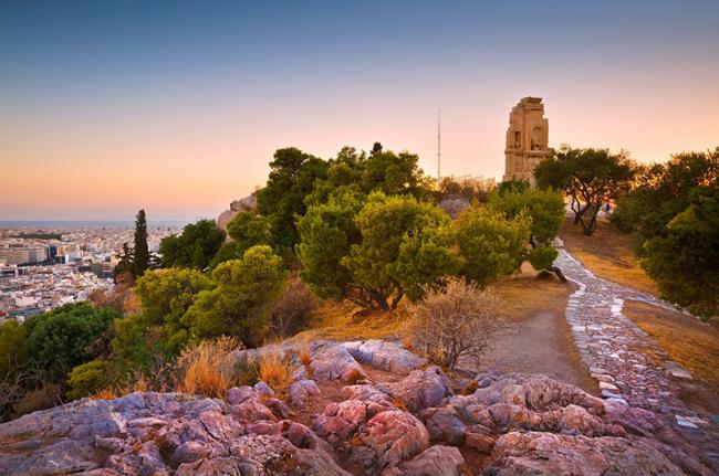 Colina de Filopapos, Atenas, Grecia