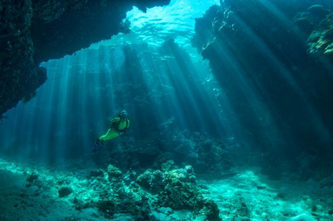 Submarinismo en Tulagi, Islas Salomón