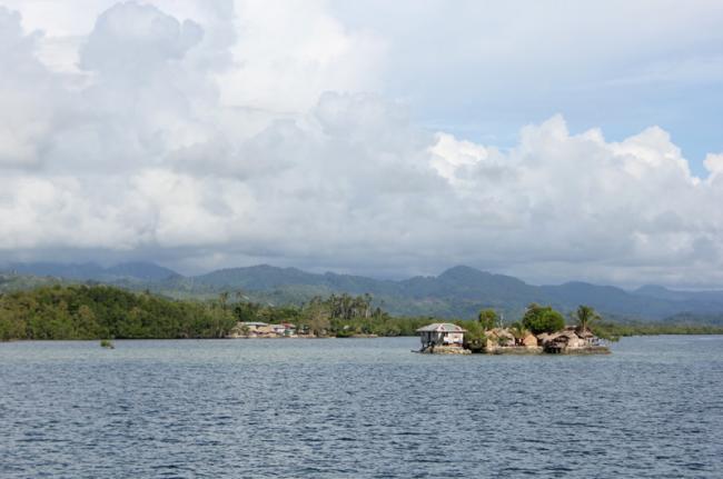 Laguna de Langa Langa, Islas Salomón