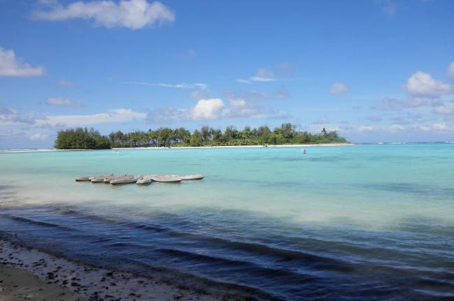 Laguna Muri, Islas Cook