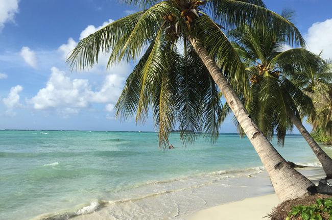 Playa de Obyan, Islas Marianas del Norte