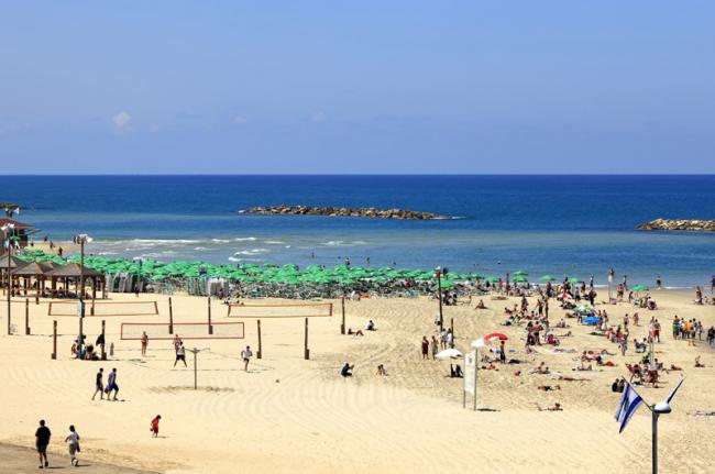 Playas de Tel Aviv, Israel