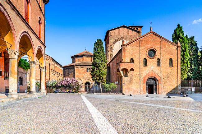 Santo Stefano, piazza Santo Stefano, Bolonia, Italia