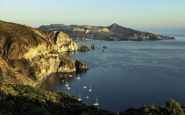 Mirador de Quattrocchi, Islas Eolias, Italia